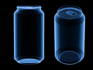 x-ray drink can