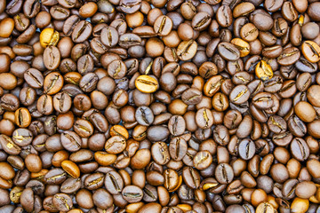 roasted coffee beans coffee background