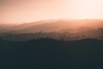 Papiers peints Gris traffic Los angeles sunset