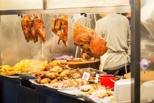 Streetfood in Hong Kong, China