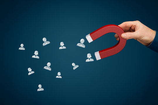 Magnet for your customers or human resources