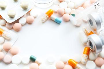 医療イメージ たくさんの医薬品