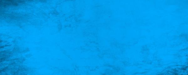 Fototapete - Horizontal dark blue texture cement wall background