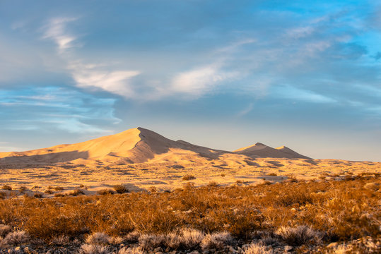 Desert Sand Dunes - Mojave National Preserve
