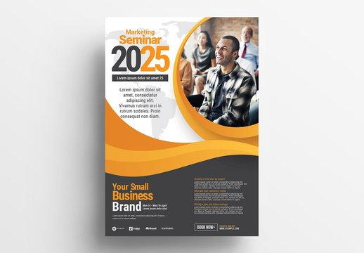 Business Event Poster Layout