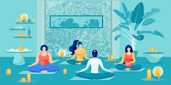 Meditation and Breathing Exercise Women Class