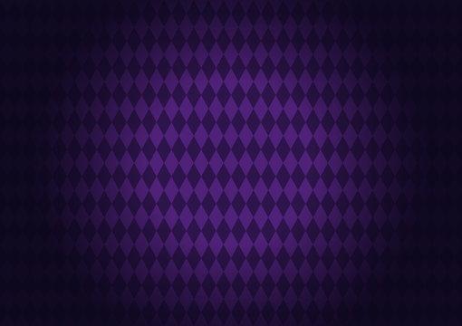 Diamond-shape quadrangle Purple Background, The pattern on the purple floor for gretting card banner, poster,  template, Flyer & brochure, vector illustration, EPS10.