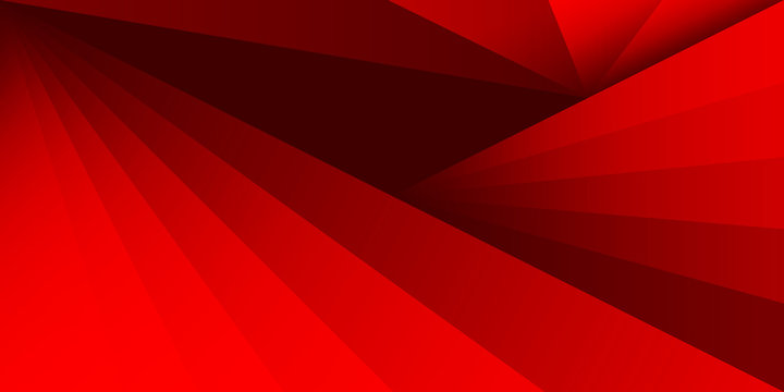 abstract triangle shape background texture overlap red color