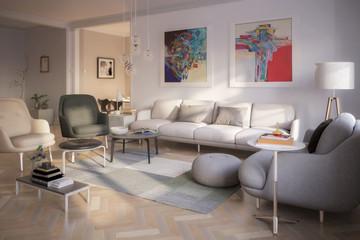 Contemporary Furniture & Decor - 3d Visualization