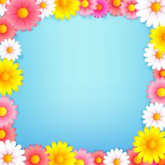Hello spring background 002