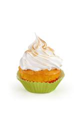 cupcake con meringa