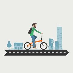 Folding bike commuting, Vélotaf, vélo pliant, intermodalité
