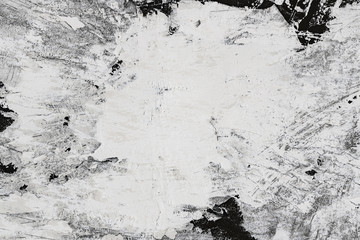 Wall Mural - Plaster wall reparation grunge texture background