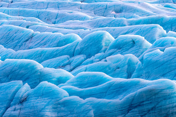 Svinafellsjokul glacier detail
