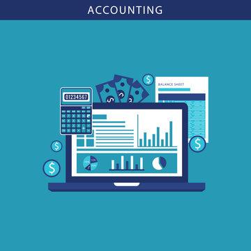 accounting software balance sheet money calculator application