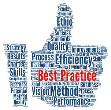 Best practice word cloud