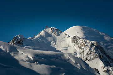 Photo du mont blanc.