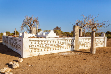 Malagasy traditional tomb in far south of Madagascar