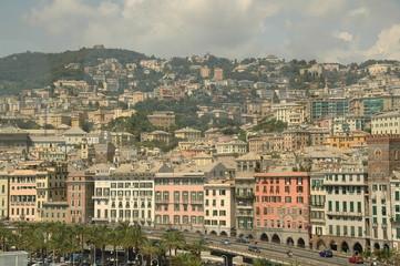 Italian city of Genoa