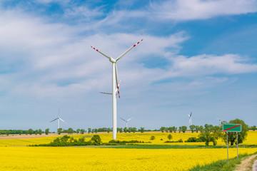 Renewable energy in action.