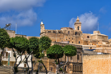 Victoria City and Cittadella in Gozo