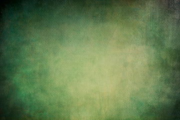 green abstract background on canvas texture Wall mural