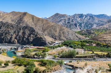 Mountain scenery, Panjshir Valley, Afghanistan, Asia