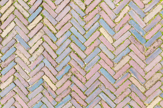 Classic coblestones pattern from The Netherlands