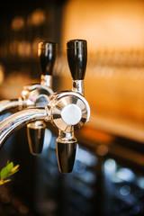 Beer/beverage tap in a bar