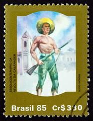 Cabano revolutionary by Guido Mondin (Brazil 1985)