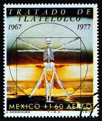 Vitruvian Man, Treaty of Tlatelolco, Prohibition of Nuclear Weapons in Latin America (Mexico 1977)
