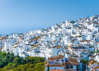 Village of Torrox in Malaga, Spain