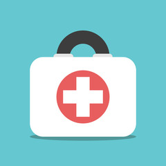 First aid kit, box