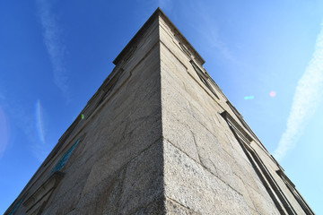 Wall Murals Northern Europe modern building, photo as a background , in a coruna north spain, galicia, spain, europe , tower of hercules lighthouse