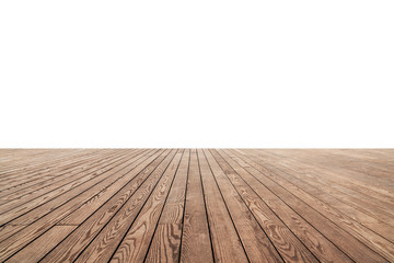 white painted or plaster wall and wooden floor decoration for background. Fototapete