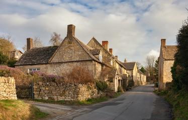 Brockhampton village near Winchcombe, Cotswolds, Gloucestershire, England
