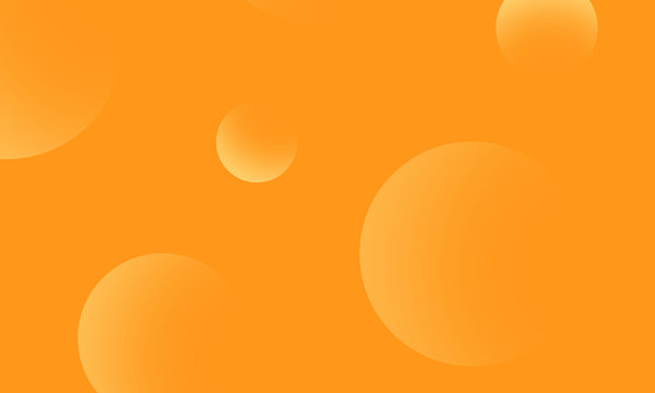 Yellow circles gradient on yellow abstract background. Modern graphic design element.