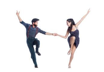 Foto auf Leinwand Tanzschule The Swing Dancing