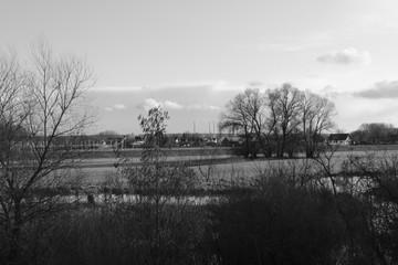 Blick auf Neustadt an der Donau in Bayern
