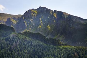 View of High Tatras mountains near Zakopane. Poland