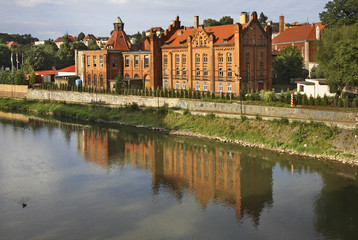 Former power station in Zgorzelec. Poland