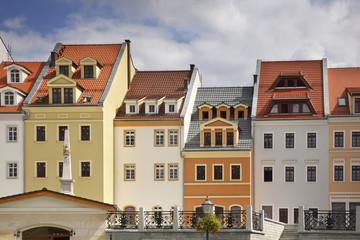 Wroclaw street in Zgorzelec. Poland