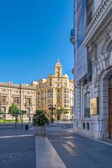 Plaza Tetuan in Valencia, Spain