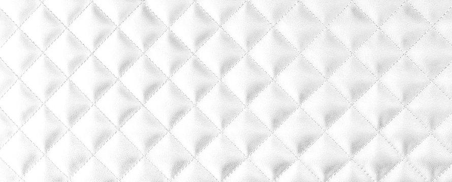 Leather diamond background White diamond background