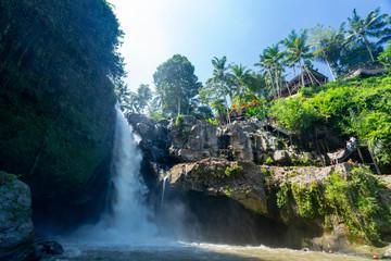 Photo sur cadre textile Bali Tegenungan waterfall in Bali, Indonesia
