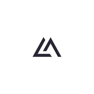 LM L M Letter Logo Design