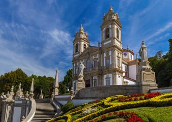 Bom Jesus church in Braga - Portugal