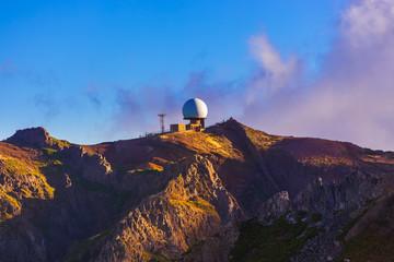 Observatory on Pico do Arierio - Madeira Portugal