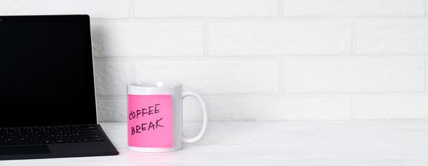 Coffee break in office