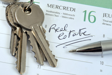 Appointment at the real estate agency